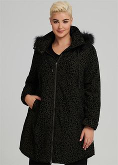 Plus Size Winter Coats Online in Australia & NZ Plus Size Winter, Taking Shape, Stretch Satin, Winter Wardrobe, Fur Trim, Timeless Design, Plus Size Fashion, Print Design, Curvy