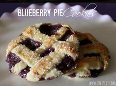 ~Blueberry Pie Cookies!