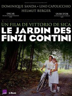 Le Jardin des Finzi-Contini (Il Giardino dei Finzi-Contini) est un film italien réalisé en 1970 par Vittorio de Sica, basé sur un roman homonyme de Giorgio Bassani  Italie, 1938. Ayant entrepris depuis peu de se convertir à l'antisémitisme, le régime fasciste multiplie les mesures vexatoires contre les Juifs italiens. Mais la famille Finzi-Contini, pilier de l'aristocratie de Ferrare depuis des générations, ne croit pas à l'imminence de la menace