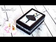 ▶ Decoupage krok po kroku - ozdobne pudełko po butach (dla dziewczynki) - YouTube