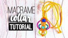 Collar triple ♥︎ macramé | How to | Avanzado