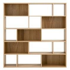 Living Room shelving - Oak Veneer