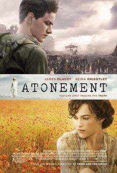 ATONEMENT - poster promises big, and the movie delivers.