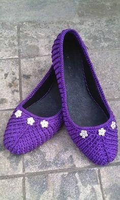 Click for these & more - Croche e Pontos: Sapatos e Sandálias 20/6/15