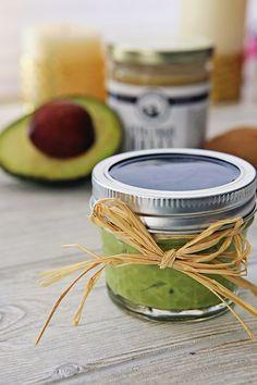 Avocado, Honey, Kiwi, and Vitamin Anti Aging Mask