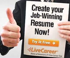 need to make a new resume try out this online website - Create A Free Resume Now