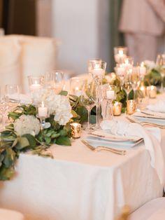 Glamorous Green and Gold Los Angeles Wedding from Carmen Santorelli Photography - MODwedding