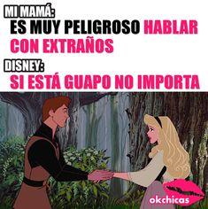 Si lo dice Disney es verdad! #LogicaDePrincesas
