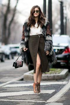 Winter elegance.