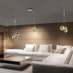 Random Suspension Lights by Studio Italia. Get it at LightForm.ca