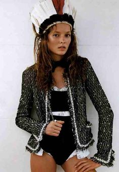 Kate Moss Would be happy with say, 1% of her style, that would get me a long way that would.