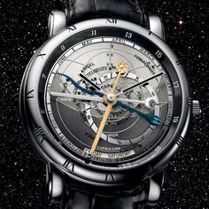 Ulysse Nardin introduces the Astrolabium Galileo Galilei. Fine Watches, Watches For Men, Wrist Watches, Moonphase Watch, Custom Design Shoes, Mens Fashion, Accessories, Man Style, Multimedia