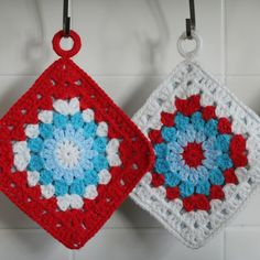 When @partyforacause learns to #crochet (note the when not if!) these she shall make! #potholders