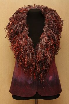 LoveLove this....Purple Night / Felted Clothing / Vest by LybaV on Etsy, $300.00