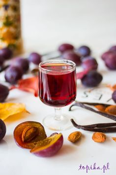Topic: Plum tincture with vanilla Non Alcoholic Drinks, Beverages, Homemade Liquor, Irish Cream, Pasta, Dessert Drinks, Vegan Vegetarian, Panna Cotta, Sweet Treats