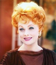 Lucille Ball......life chewed her up pretty hard, but she kept on trucking and always with total graciousness...amazing woman.