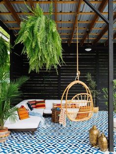 Have the urge to revamp your outdoor space?  Here is a budget-friendly — and incredibly eye-catching — way to add a little wow factor to your backyard. PAINT! Yes, it's that simple.