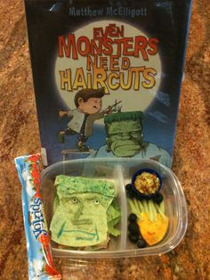 Even Monsters Need Haircuts lunch pic 2