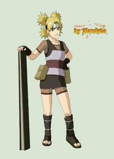 Temari (テマリ, Temari) is a major supporting character of the series. She is a jōnin-level kunoichi of Sunagakure and one of the three Sand Siblings. Naruto Shippuden, Boruto, Shikatema, Shikadai, Naruhina, Naruto Oc, Naruto Girls, Anime Naruto, Anime Manga