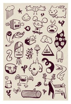 Characters & Doodles on Behance