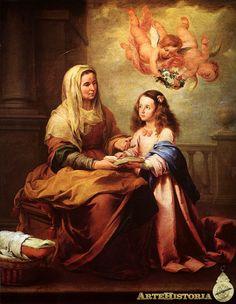 Santa Ana y la Virgen - Obra - ARTEHISTORIA V2
