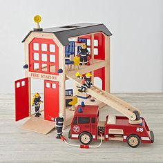 Everything but the Dalmatian Firehouse Set    The Land of Nod