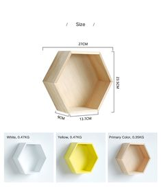 diy kid room decor Nordic Style Nursery Kids Room Decoration Shelf Wooden Yellow White Honeycomb Hexagon Shelves for Baby Child Bedroom Decoration - AliExpress Source by Diy Wall, Wall Decor, Neutral Bedroom Decor, Hexagon Shelves, Honeycomb Shelves, Nordic Style, Baby Room Decor, Kids Bedroom, Baby Bedroom