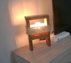 Wood Abatjour