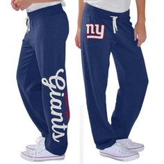 Women's New York Giants G-III 4Her by Carl Banks Royal Scrimmage Fleece Pants