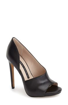French Connection 'Velora' Peep Toe Platform Pump (Women) available at #Nordstrom