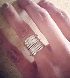 Silver rings # Silver # Ring