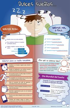 A propósito del Día Mundial del Sueño, conoce en nuestra infografía los hábitos para un sueño saludable así como los riesgos de dormir mal o poco.