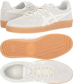 Onitsuka Tiger by Asics Unisex GSM Cream/Cream 8.5 Women / 7 Men M US
