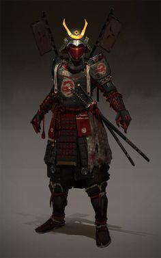 "sekigan: ""ArtStation - Samurai , Evgeniy Petlya "" black and white sketch samurai ninja Geisha Samurai, Ronin Samurai, Samurai Warrior, Woman Warrior, Samurai Concept, Armor Concept, Concept Art, Game Concept, Fantasy Character Design"