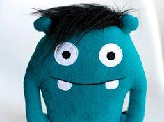 DIY-Anleitung: Snuufie-Monster nähen via DaWanda.com