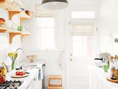 These petite culinary spaces are inspiring proof that you can have high-style in small quarters.