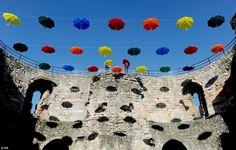 colourful umbrellas - Google Search