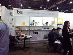 El stand de bq en el International CES de Las Vegas (enero de 2015) #CES2015