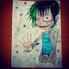 #art #animeart #anime #watercolor #crazy #Japan #drawing