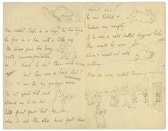 Beatrix Potter - Peter Rabbit Letter to Noel Moore, Feb. 4, 1895 - The Morgan Library & Museum