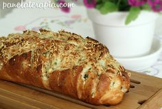 Pão de Alho com Parmesão