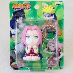 Naruto Shippuden Sakura Haruno Keychain Figure Banpresto JAPAN ANIME MANGA JUMP