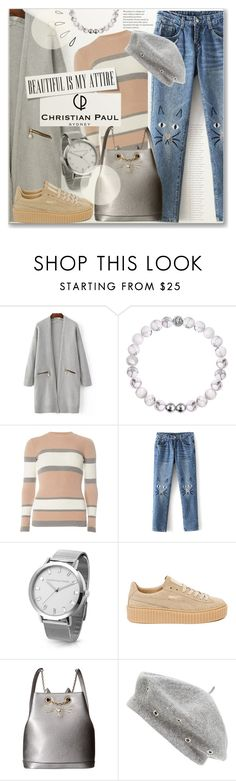 """""""Casual Fall With Christian Paul"""" by myfashionwardrobestyle ❤ liked on Polyvore featuring Dorothy Perkins, Puma, Charlotte Olympia, Old Navy, Phase 3, polyvoreeditorial, catstyle and christianpaul"""