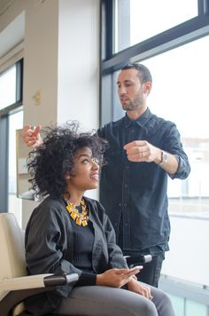 My Curly Cut at the Bb. Salon DOWNTOWN NYC | The Feisty House