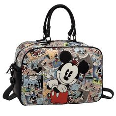 Grand Sac Mickey Rétro 36 cm