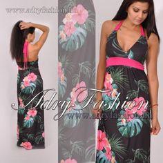 22186874cb Warp Zone virág mintás maxi női ruha - AdryFashion női ruha webáruház, Ruha  webshop, Amnesia, NedyN, Rensix , Egyedi ruha
