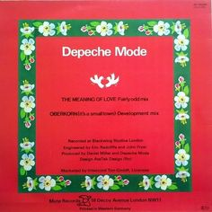 Depeche Mode - The Meaning Of Love (Vinyl) at Discogs
