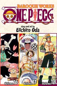 35ccd760d4077 Buy One Piece: Baroque Works Vol. 6 (Omnibus Edition) by Eiichiro Oda  Paperback) online