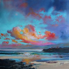 scott Naismith painting the light and color of Scotland