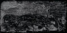 #Chalkboard Formule ed equazioni: quando la lavagna diventa opera d'arte